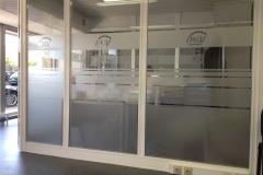 film effet frost pour surfaces vitrées