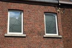 Sablage pour fenêtre