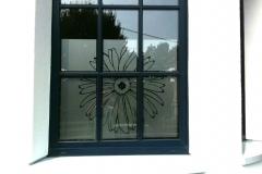 protéger vos vitres avec du sablé