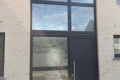Portes et fenêtres sablées