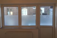 Série de fenêtres sablées